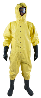 non-air -tightness type chemical protective suit-CCS